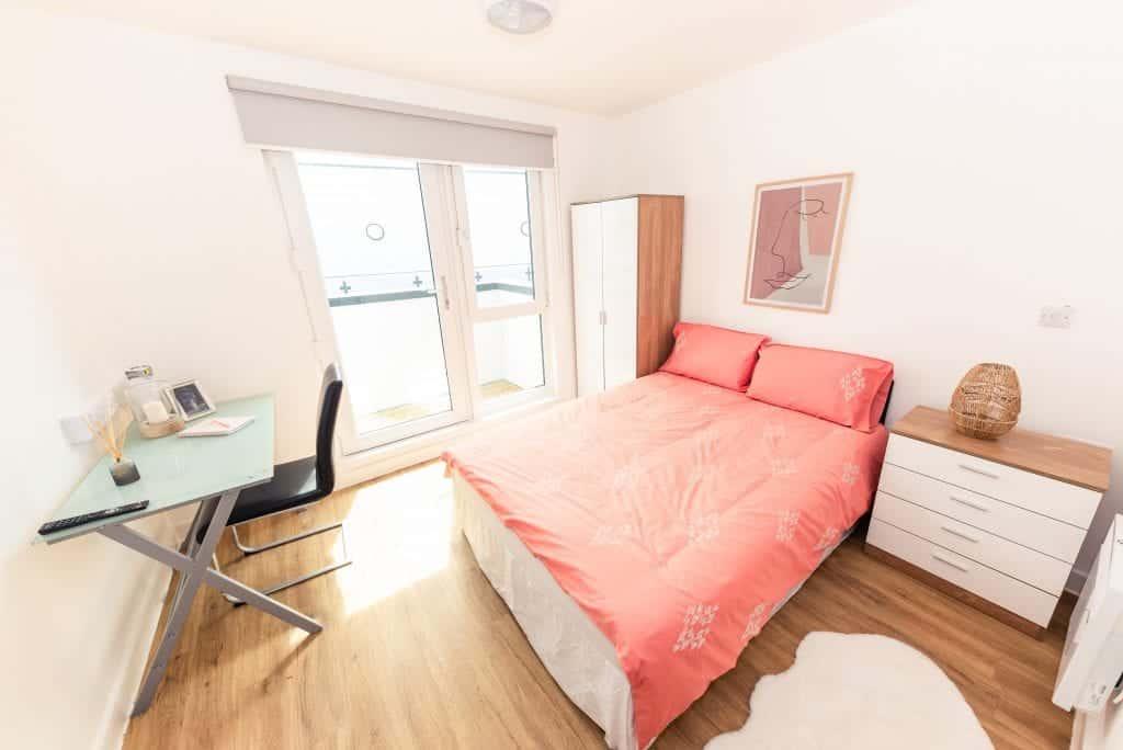 X1 Arndale House | Apartment in Flatshare | Bedroom