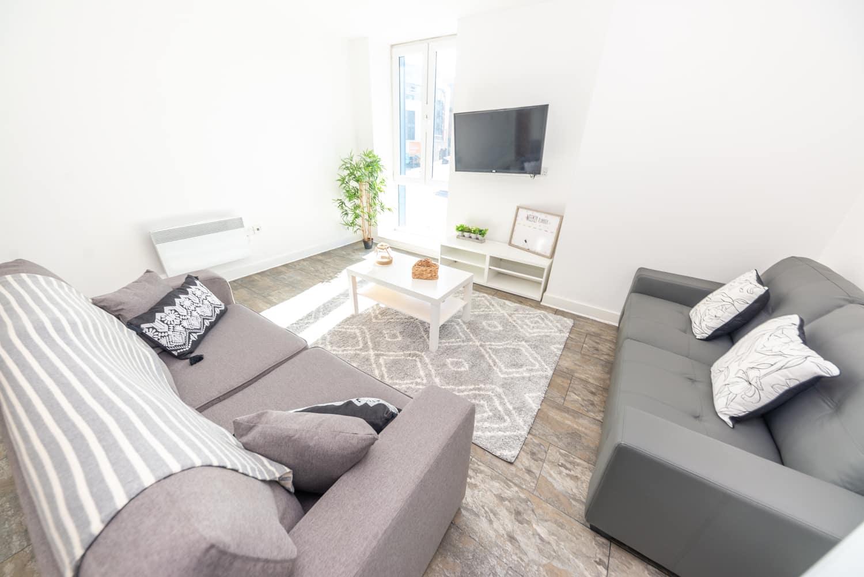 arndale house living room