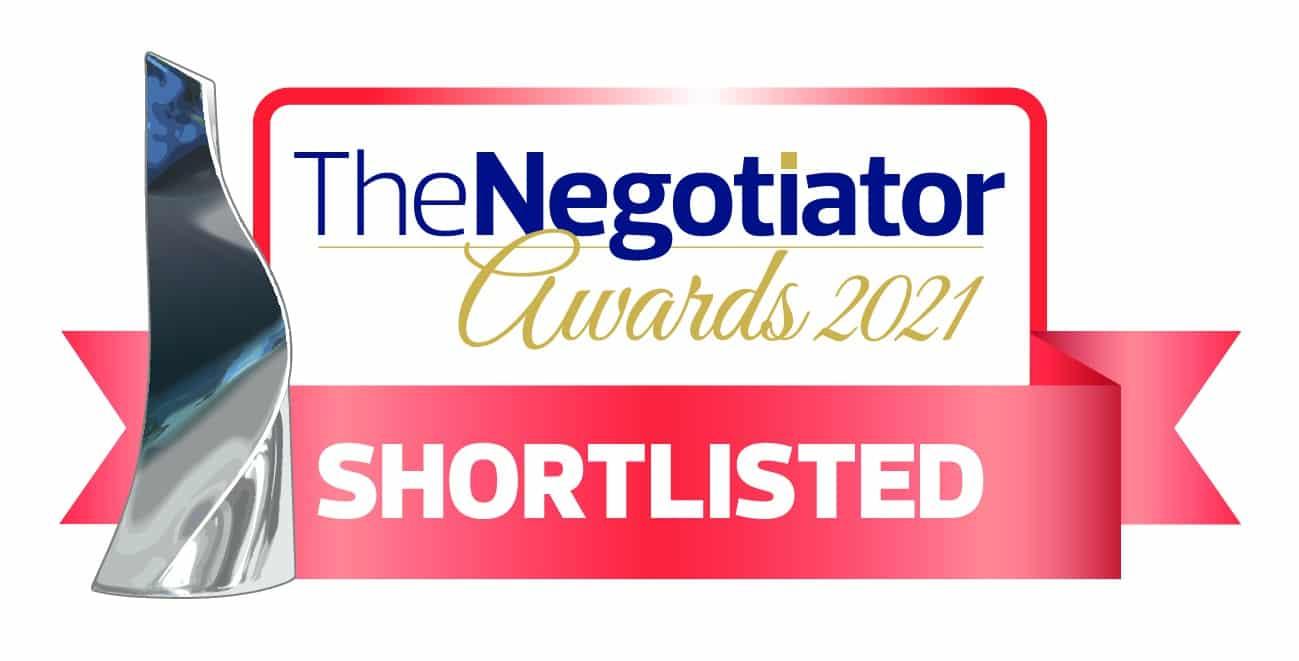 X1 Shortlisted at The Negotiatior Awards 2021