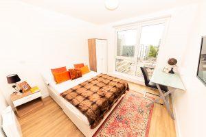 x1 arndale house bedroom